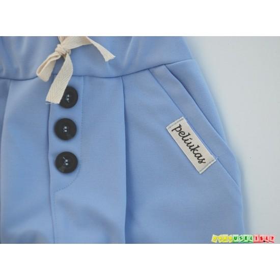 """Kelnės vaikams """"Šviesiai mėlynos su peteliške"""", 750"""