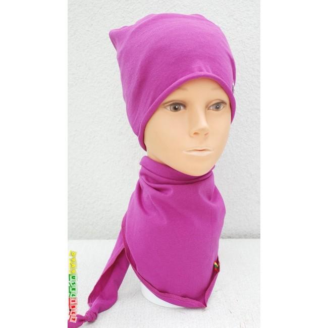 """Kepurė su kaklaskare """"Purpurinė"""", 863"""
