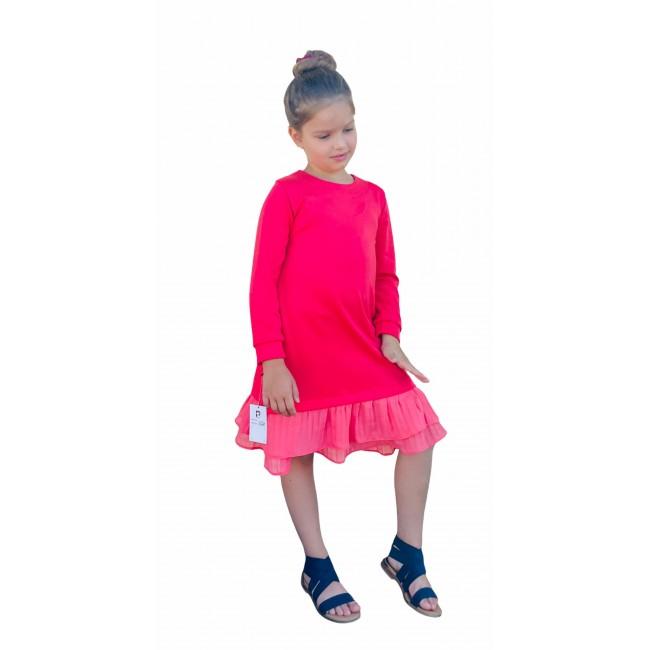 """Suknelė mergaitei """"Koralinė"""", 531"""