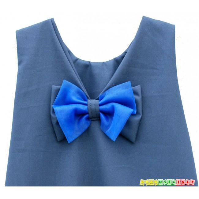 """Puošni Suknelė mergaitei """"Tamsiai mėlyna"""", 531"""