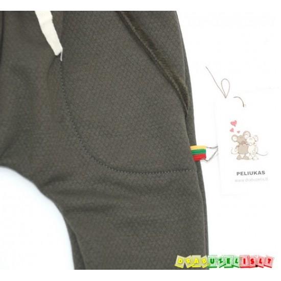 """Šiltos - Haremo kelnės """"Chaki spalvos"""", 720*"""