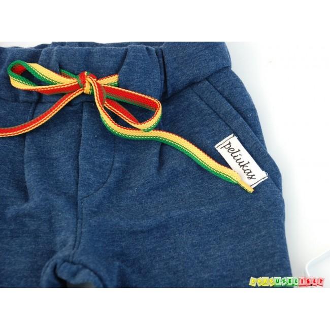 """Vaikiškos kelnės su peteliške """"Melsvos"""", 5501"""
