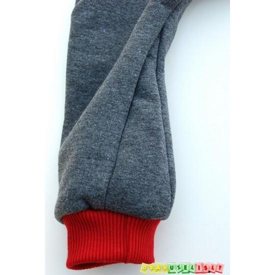 Šiltos harem vaikiškos kelnės su ausytėmis, 515