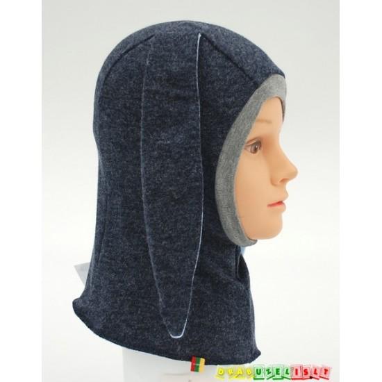 """Kepurė - šalmukas """"Tamsiai pilkas kiškis"""", 778"""