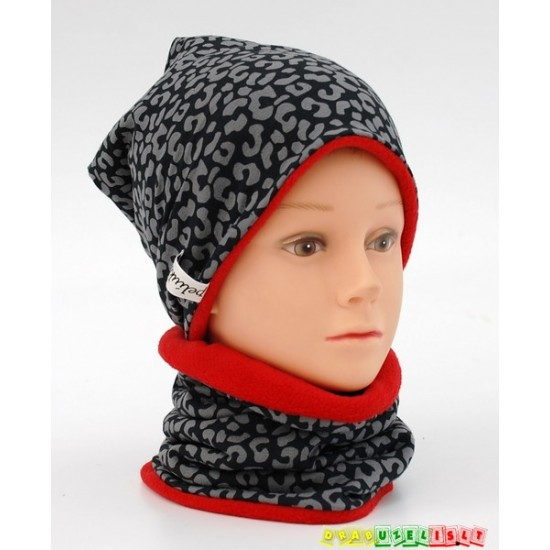 "Šilta kepurė vaikui su mova ""Crazy"", 790"