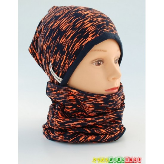 """Kepurė su mova pavasariui/rudeniui """"Beržas oranžinis"""", 114"""