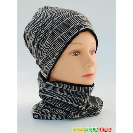 """Vaikiška kepurė su mova """"Dryžiukai"""", 289"""