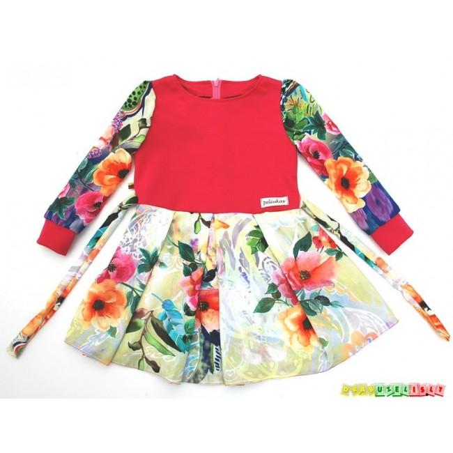 Puošni suknelė mergaitėms, 382