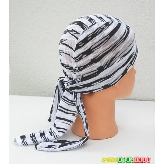 "Kepurė-bandana vasarai ""Dryžuota"", 859"