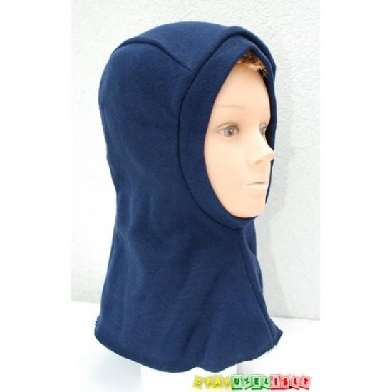 """Šilta Kepurė-šalmukas rudeniui/žiemai """"Tamsiai mėlynas"""", 925"""
