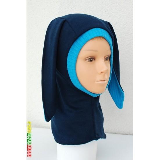 """Šilta Kepurė - šalmukas rudeniui/žiemai  """"Mėlynausis"""", 755"""