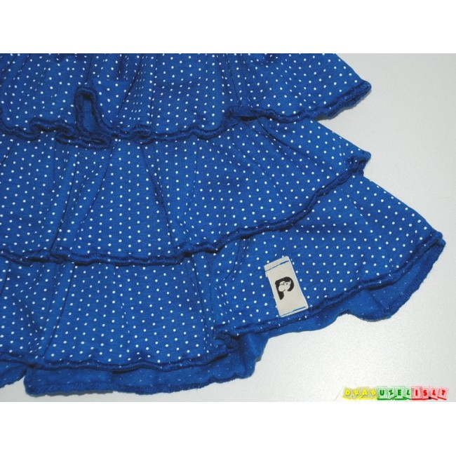 """Suknelė mergaitei  """"Mėlyni taškeliai"""", 930"""