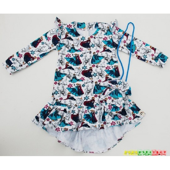 """Suknelė mergaitei  """"Ledo princesė"""", 945"""