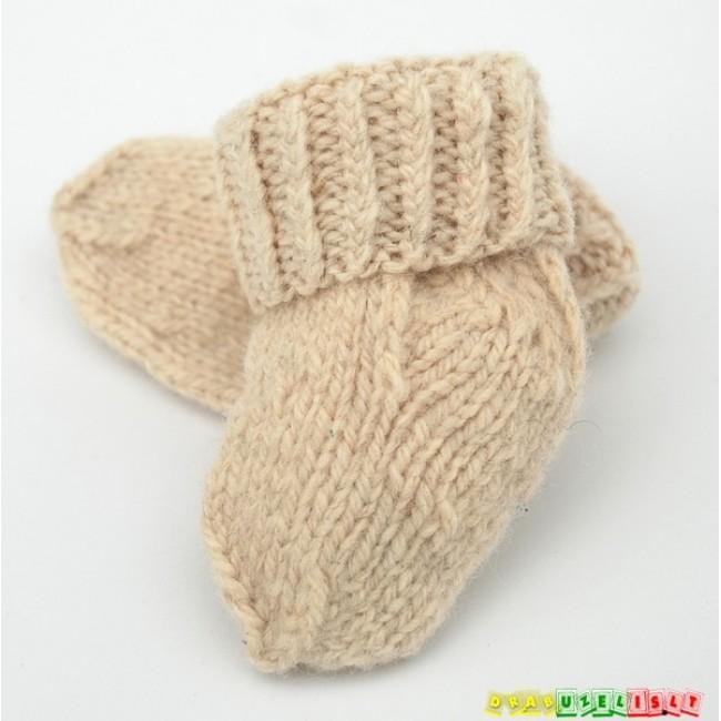 Vilnonės kojinytės naujagimiui, 842