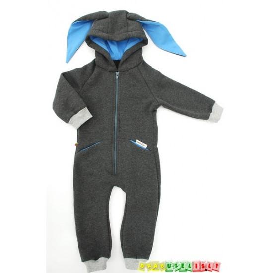 """Šiltas- Kombinezonas vaikui """"Zuikis mėlynausis"""", 699"""